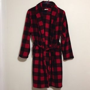 Urban Pipeline, boys, red/black, robe, size 12/14.